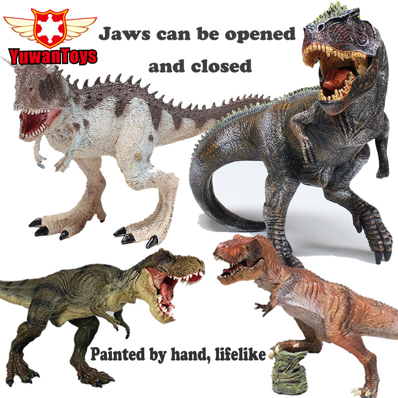 Action Toy Figures Jurassic Tyrannosaurus Dragon Dinosaur Toys Plastic Dolls Animal Collectible Model Furnishing Toy Gift 10pcs bag toy bag small pet shop figures toys animal cat dog patrulla canina action figures kids toys gift