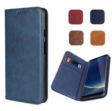 LUCKBUY Luxury Case for Sony Xperia XA1 Z5 X Compact Ultra-Thin Magnetic Leather Book Wallet Cases XZ1 XZ2 capa