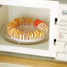 1 шт. DIY микроволновые запеченные в духовке прибор для изготовления чипсов устройство для выпечки картофельных чипов Инструменты для выпечки готовка низких калорий кухонные устройства Инструменты