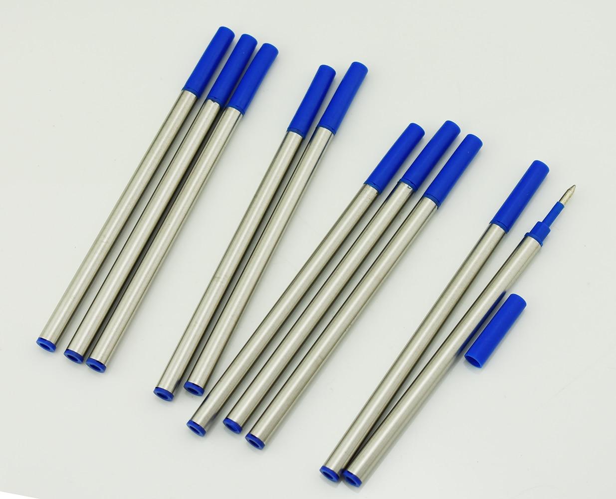 10 Pieces Baoer Rollerball Pen Ink Refills for BAOER,FULIWEN,JINHAO,DUKE Rollerball Pens , Push Type 0.5 mm - Blue Color10 Pieces Baoer Rollerball Pen Ink Refills for BAOER,FULIWEN,JINHAO,DUKE Rollerball Pens , Push Type 0.5 mm - Blue Color