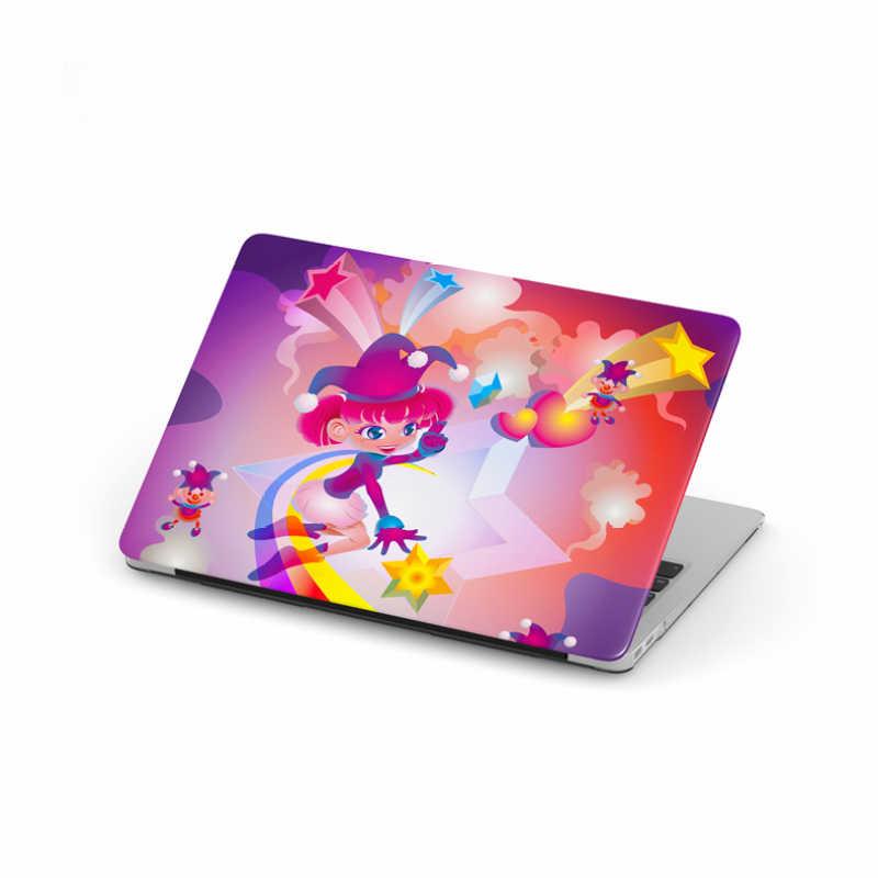 KOPWO Clown étui de protection pour ordinateur portable pour Apple Macbook Air Pro 11 13 15 pouces dessin animé Joker fille nouvelle couverture de cahier pour A1706 A1989