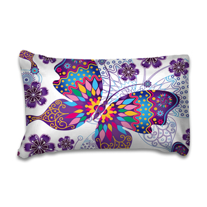 Image 2 - Wongsbedding Purple Butterfly Duvet Cover Bedding Set Animal Bedclothes Twin Full Queen King Size 3PCS