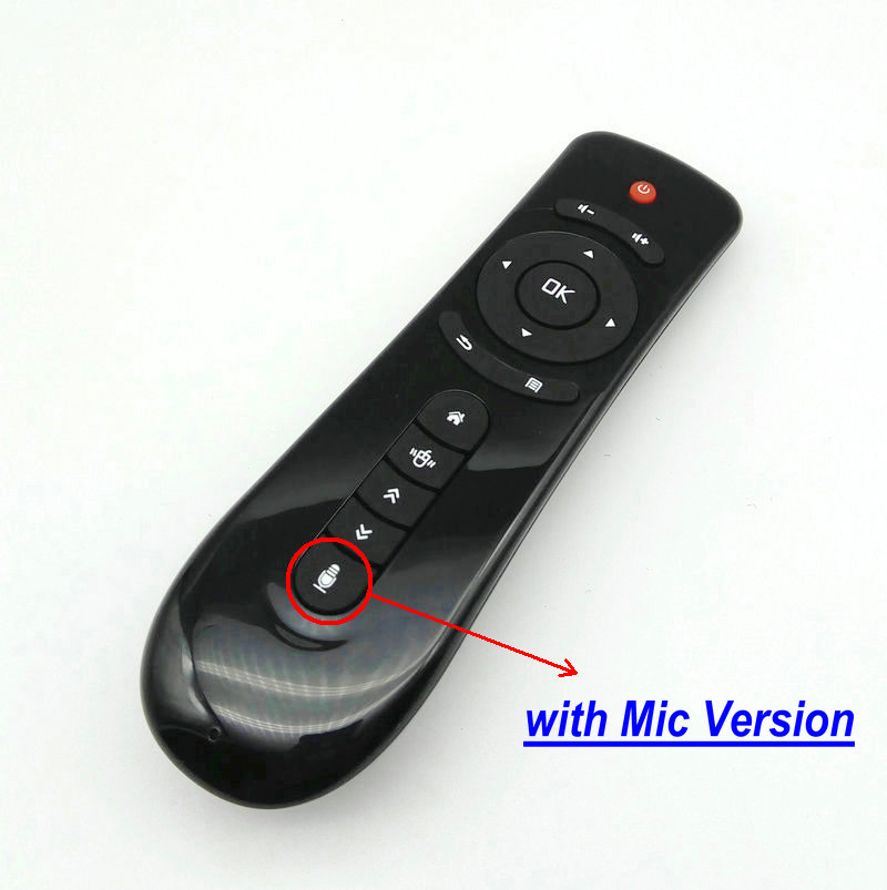 T2M Air Mouse Wireless Remote Control 2.4GHz Voice for Smart TV Android Box PC