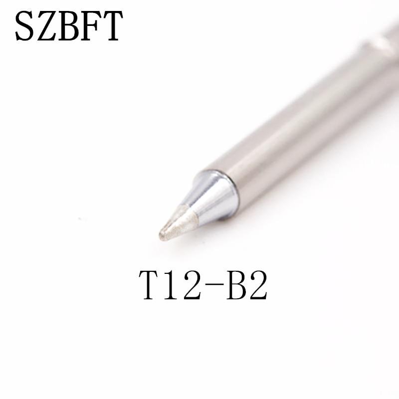 SZBFT Punte saldatore T12-B2 I ILS serie J02 JL02 JS02 per stazione - Attrezzatura per saldare - Fotografia 2
