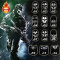 Nueva Original Ghost Skull Hood Ski Balaclava Monopatín Cosplay Paintball Al Aire Libre Airsoft Caza Tactical Mascarilla facial
