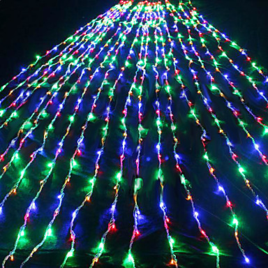 New Year! 2Mx2M AC110/220V LED Waterfall String Light , LED Christmas Lights Decoration