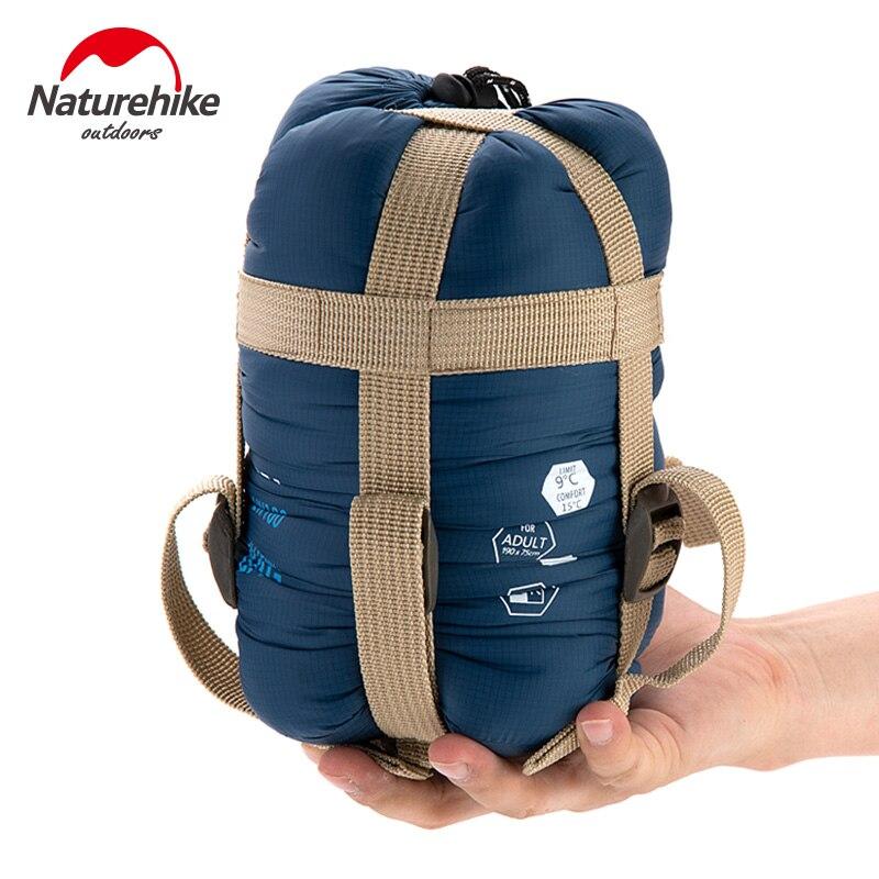NatureHike открытый сверхлегкий конверт мини-спальный мешок ультра-маленький размер для кемпинга Туризм Альпинизм Открытый 1,9*0,75 м