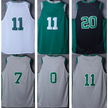 4849369a5d6 Tank tops Jaylen Brown Kyrie Irving Jayson Tatum Gordon Hayward James  Harden Chris Paul Hakeem Olajuwon city edition jerseys