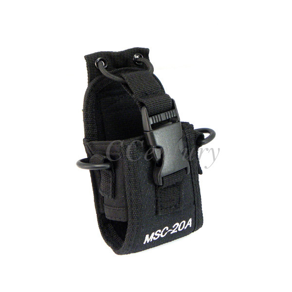 Multi-Functional Portable Radio Case Holder Holster MSC-20A For Kenwood Baofeng Ham Radio Walkie Talkie UV-5R UV-5RA UV-82 UV-B5(China)