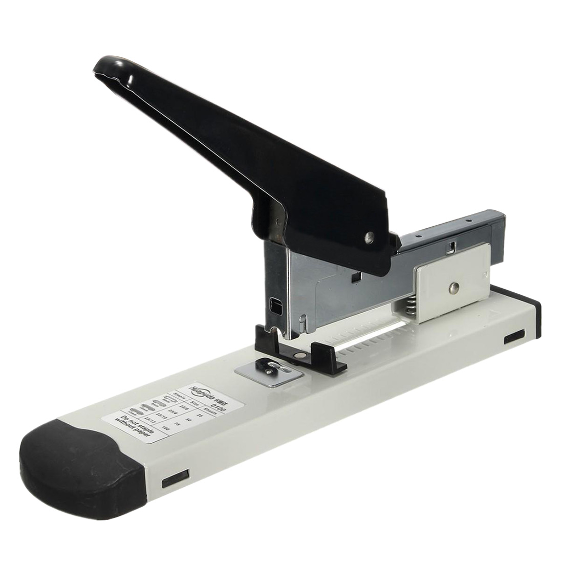 Huapuda Heavy Type Metal Stapler Bookbinding Stapling 120 Sheet Capacity Office Tools Fit Staples(Pins) 23/6, 23/8, 23/10, 23/13