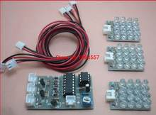 CD4017 + ne555 moduł stroboskopowy zestawy do produkcji elektroniki zestawy diy elektroniczny zestaw do nauki diy