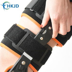 Image 5 - Newest Design ROM Post Op Knee Brace Adjustable Hinged Leg Braces & Supports Universal Size