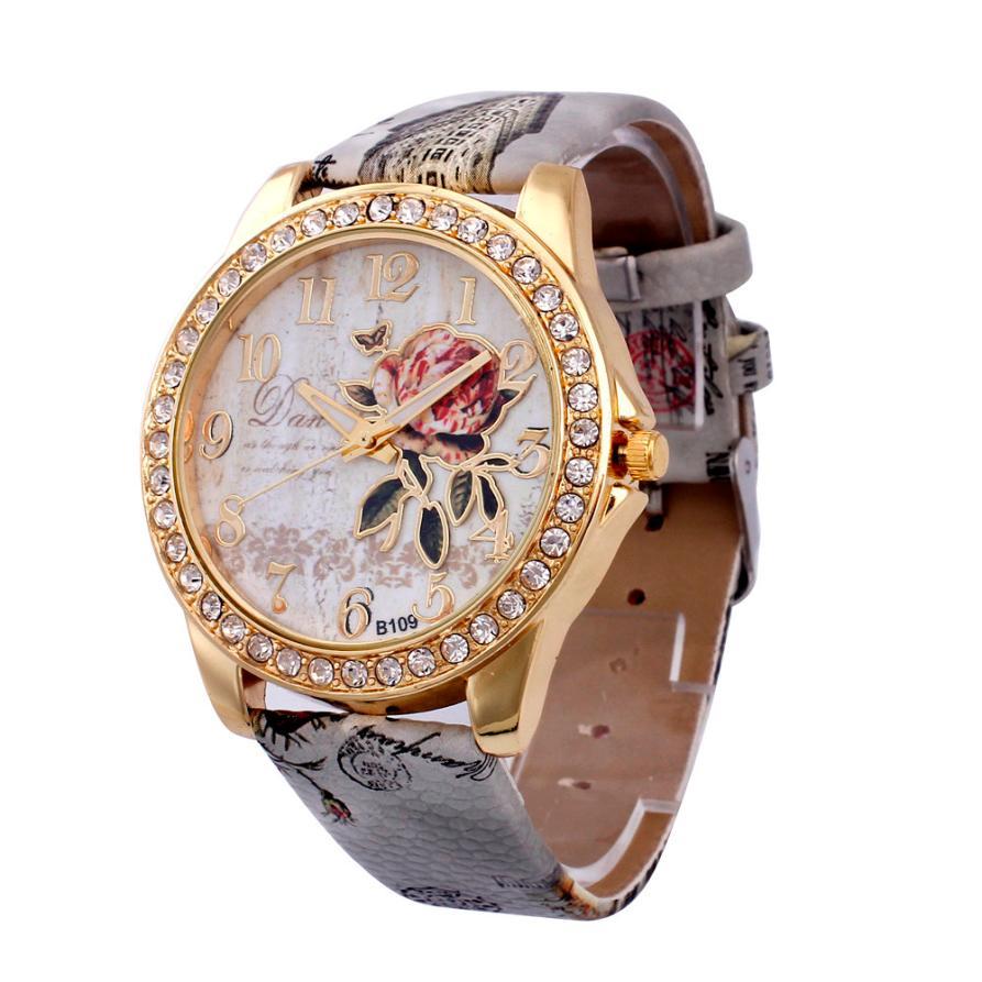 Women Band Analog Quartz Business Wrist Watch Vintage ladies Watch Relogio Feminino