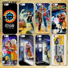 BiNFUL Back To The Future boy hard clear Cases cover for Apple iPhone 7 6 6s Plus SE 4s 5 5s 5c plastic phone case(China)