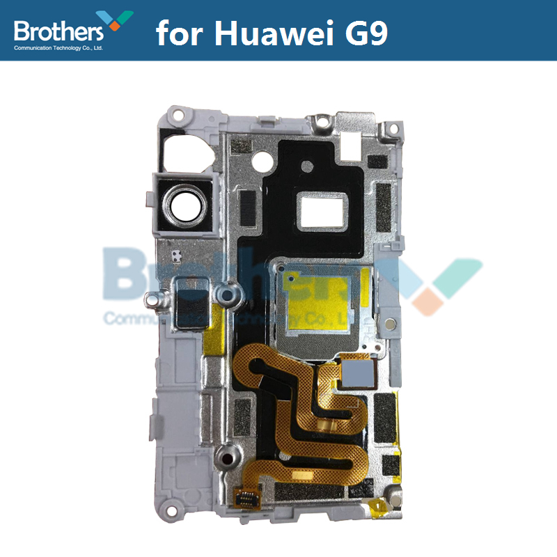 Fingerprint Sensor Plate For Huawei G9 Scanner Flex Cable Camera Lens Frame Holder For Huawei G9 Phone Replacement High Quality (5)
