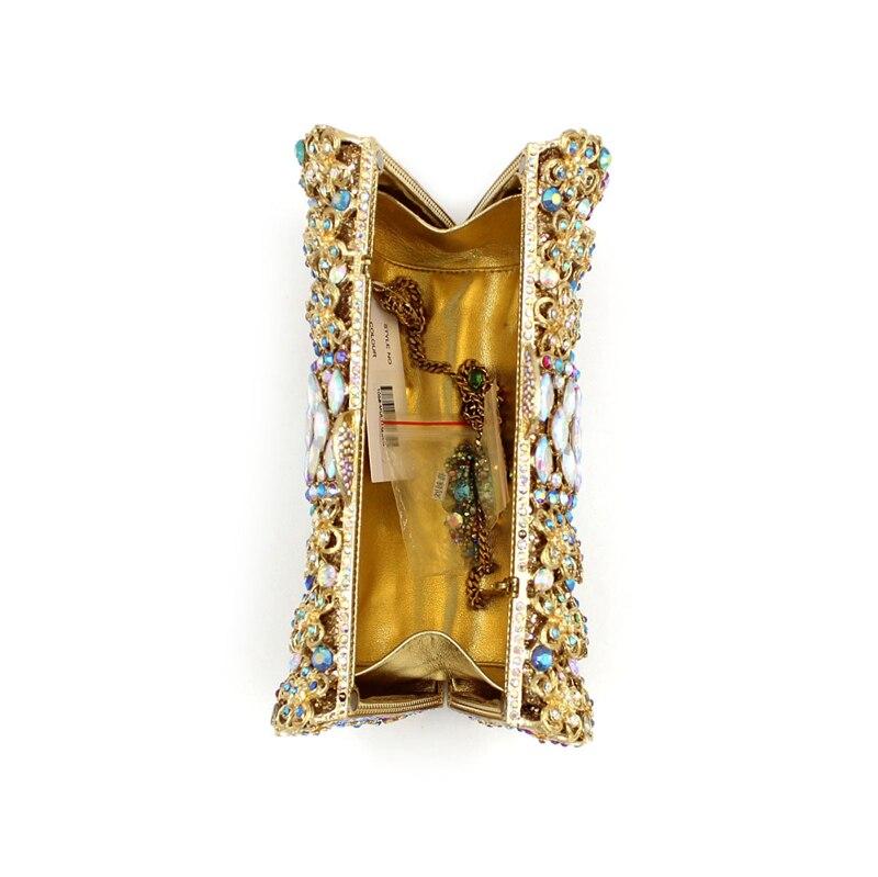 de Main Bags Messenger Soirée Smyzh sac Femmes Chaîne Duplex e0043 À Bourse Sac D'épaule Diamant Perlé Mariée D'embrayage Style De Hot La YwqAU10