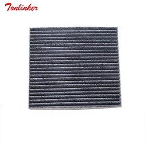 Image 2 - Tonlinker filtr powietrza kabiny samochodu 51917801 pasuje do płaskiego Viaggio OTTIMO 1.4T Model 2012 2013 2014 2015 2016 rdzeń filtra akcesoria