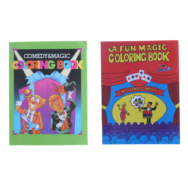 2pcs Magic Coloring Book Magic Tricks Best For Children Stage Magic ...