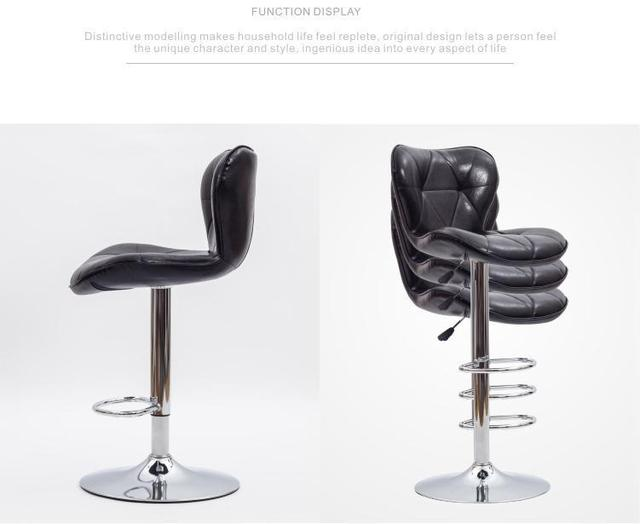 Black bar seat magazijn stoel gratis verzending eetkamer klaslokaal ...