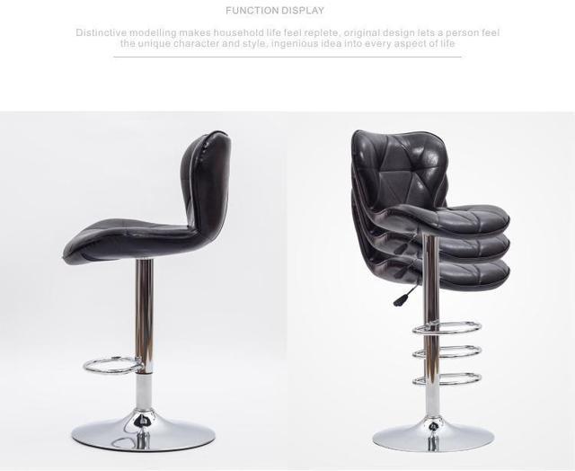 Black bar sgabello sedia sedile magazzino spedizione gratuita sala