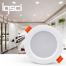 Lqsci светодиодный потолочный светильник 3 Вт теплый белый/холодный белый светодиодный светильник переменного тока 220 в 230 в 240 В стиль