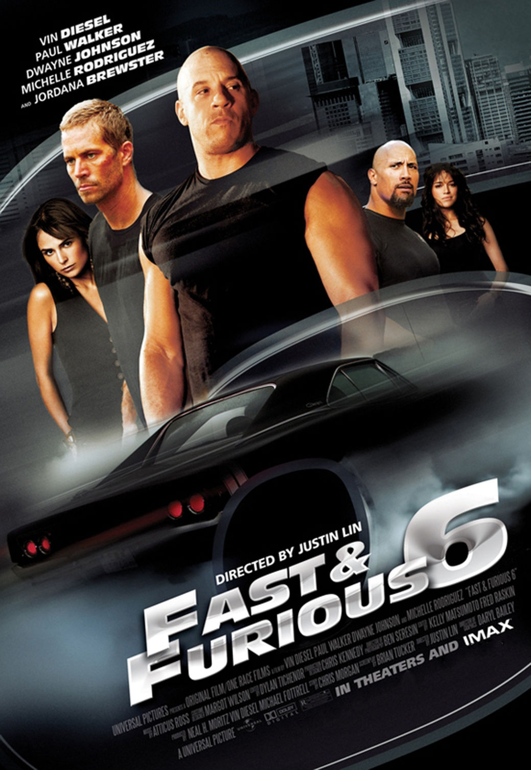 fast furious 6 movie fabric poster 36 x 24 decor 018