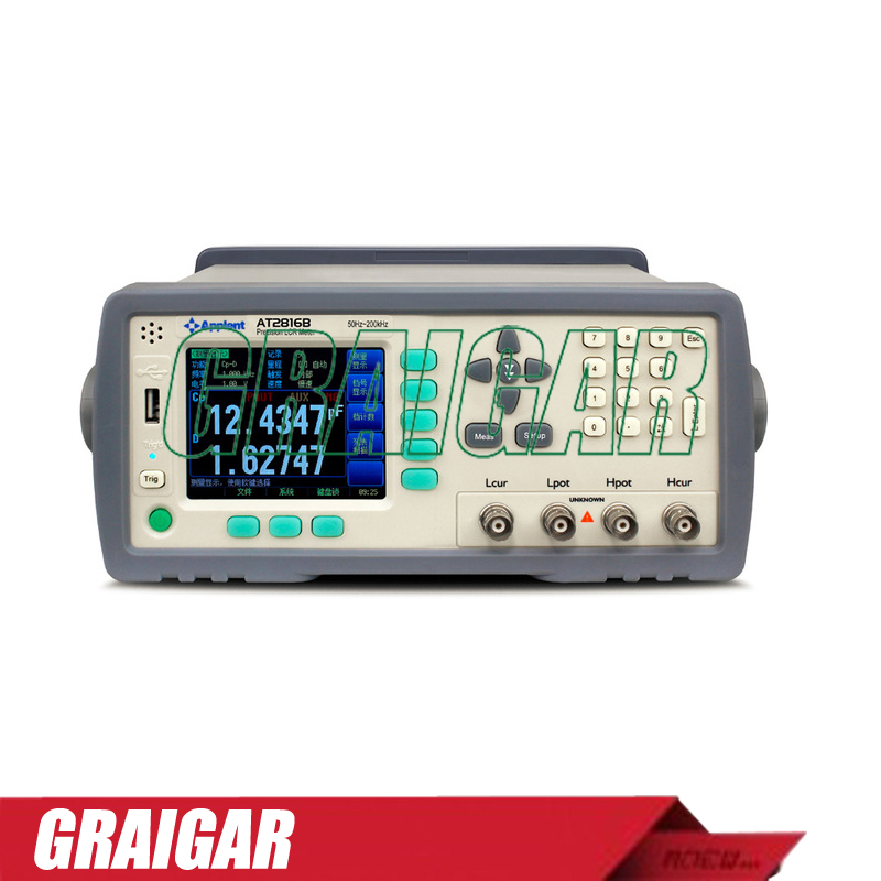AT2816B Smart LCR Meter 50Hz~200kHz 33 Points TFT LCD Display