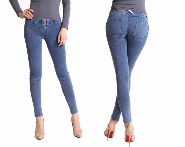 b1039b682d0d0b New Arrival Women Freddy Pants Push Up Jeans Sexy Leggings Low Waist ...