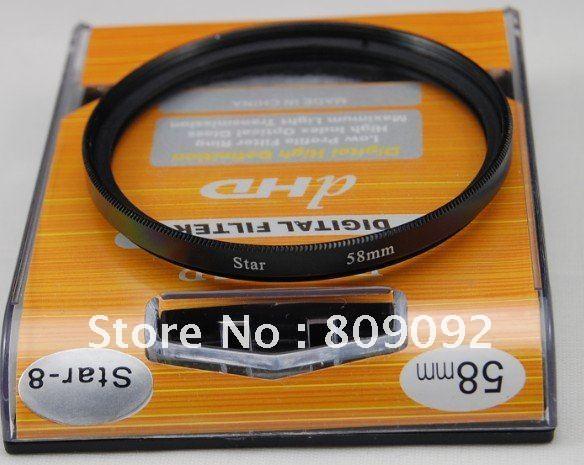 GODOX 58 мм 8 точек 8PT звезда Camea фильтр объектива
