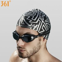 361 Silicone Swimming Cap Men Women Boys Girls Waterproof Swimming Hat for Pool Hat Ear Protection Adult Kids Swim Accessories 361 swimming caps for men women long hair women swimming cap for pool professional silicone swim hat waterproof ear protection