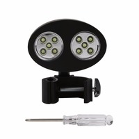 New Adjustable 10 LED BBQ Grill Barbecue Light Outdoor Handle Mount Clip Camp Lights Waterproof Heat