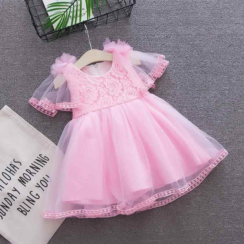 Summer Baby Clothing Girls Dress Wedding Birthday Baby Dress Tutu 1-3Y Baby Girl Clothes Girl Princess Party Dress 2019