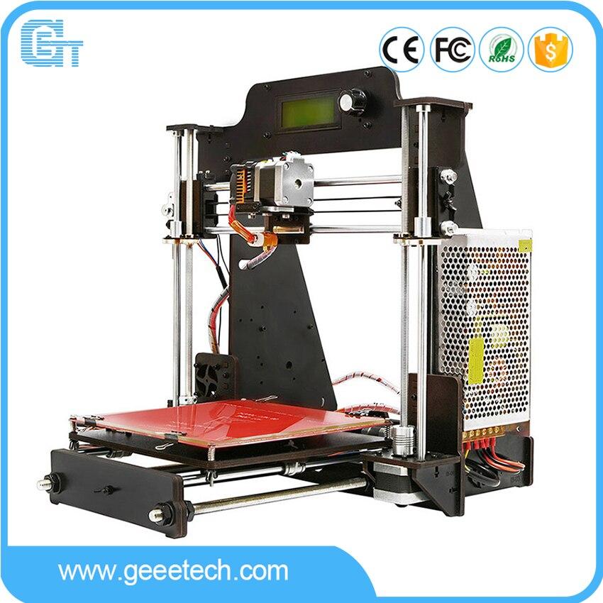 Geeetech imprimante 3D i3 Pro cadre en bois avec panneau GT2560 système à Filament ouvert connexion au Module Wi-Fi