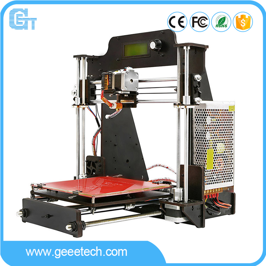 Geeetech 3D Printer i3 Pro Wood Frame with GT2560 Board Open Filament System Wi-Fi Module Connection