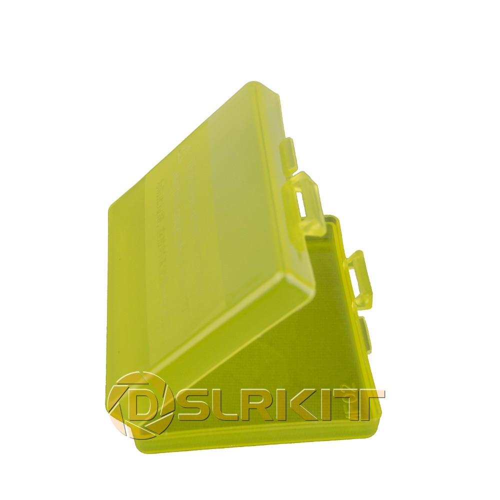 White Hard Plastic Case Holder Storage Box For Battery EN-EL12 NP-BG1/FG1 NP-BX1 NP-BN1 SD Card....