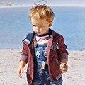Little maven 2017 primavera meninos marca de roupas de inverno crianças quentes hoodies & camisolas bordado guindaste fleece wy098