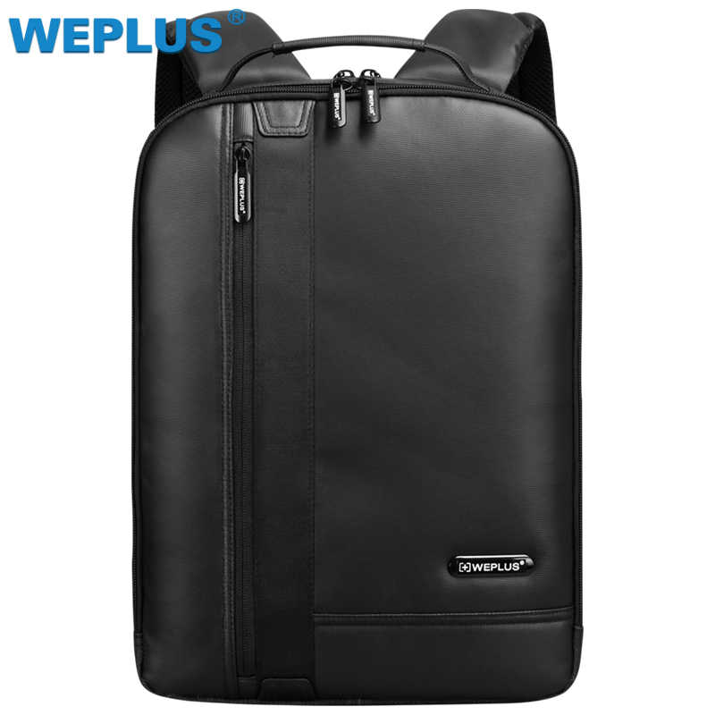 Бренд водостойкий 15,6 дюймов ноутбук рюкзак мужские кожаные рюкзаки для подростка  повседневные Daypacks mochila ec38813634f