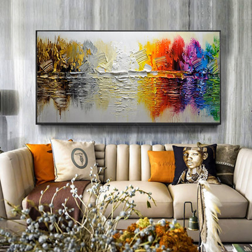 Large Wall Art Living Room Abstract