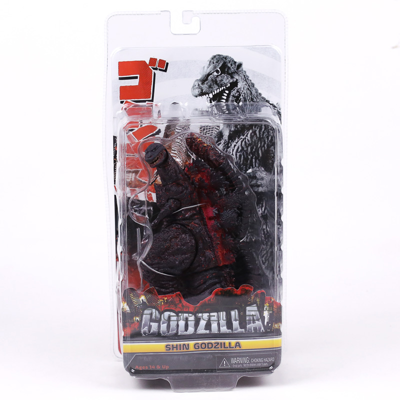 NECA Godzilla Shin Godzilla 2016 Movie PVC Action Figure Collectible Model Toy 16cm wholesale custom shop 1959 r9 tiger flame electric guitar electric guitar standard lp 59 free shipping