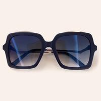 2019 New Big Square Sunglasses Women Oversize Shades Classic Sun Glasses Female UV 400 Luxury Brand Designer Oculos De Sol