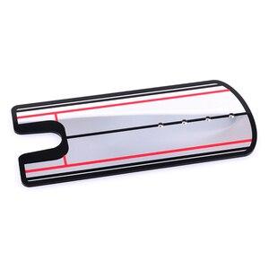Image 5 - 2019 nouvelles aides à lentraînement de golf balançoire de Golf pratique droite Golf mise miroir alignement balançoire formateur ligne oculaire accessoires de Golf