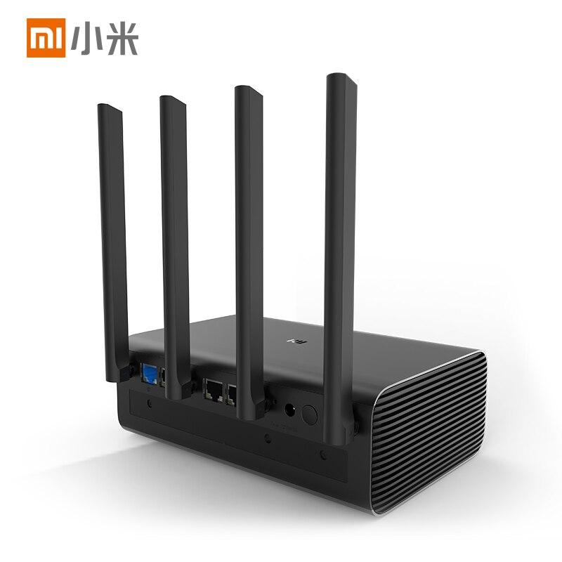 New product original Xiaomi mi router Pro/HD 1TB/8T 2.4G 5G Wireless Routers Black 12V 2.5A xioami router universal - 3