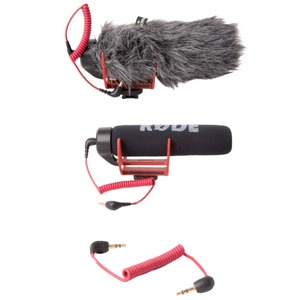 Image 5 - Orsda Ro de VideoMicro va sur caméra Microphone pour Canon Nikon Lumix Sony Smartphones gratuit Windsheild Muff/adaptateur câble