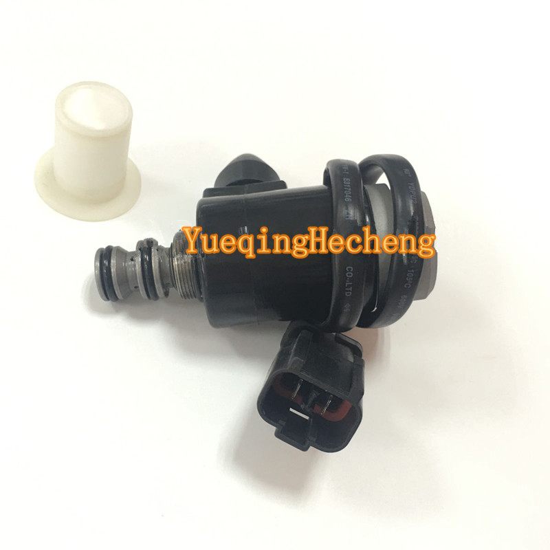 Rotating Solenoid Valve Fits For Komatsu Excavator PC60-7 PC100-6 PC120-6 PC128US-1 excavator starting wiper motor governor assy pc60 7 pc78us pc70 7 for komatsu governor motor excavator electric parts