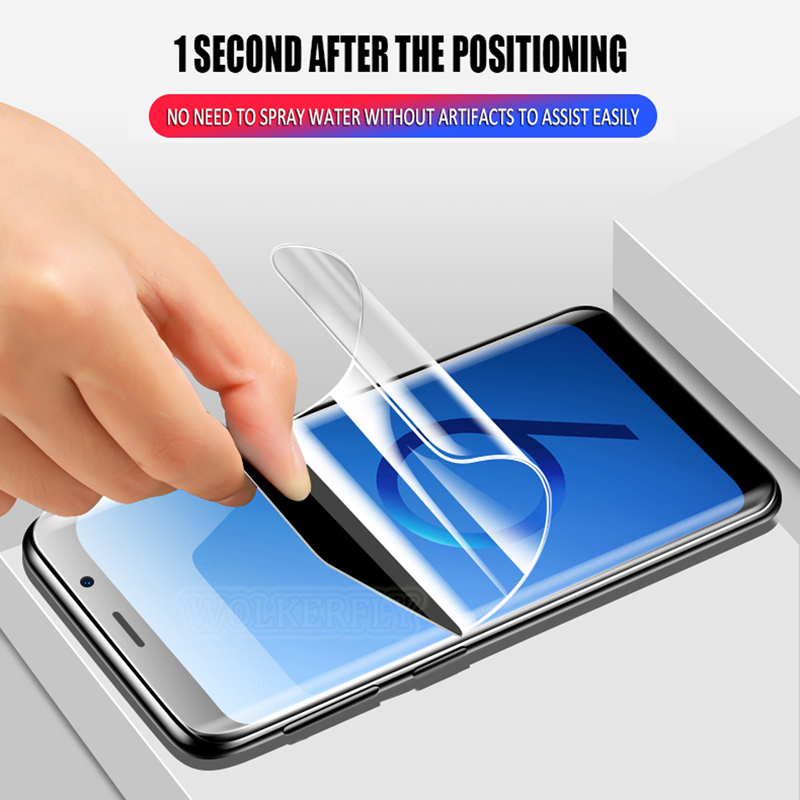 Full Cover Soft Hydrogel Film For Huawei Honor Play 6A 6X 7X 7A 7C 6C Pro Screen Protector On Honor 7S 10 9 8 Lite ( Not Glass )