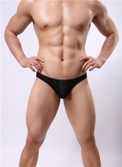 Mens sexy underwear Bikini men Gay Brief Mens Jacquard briefs Red/black/blue/ green underwear