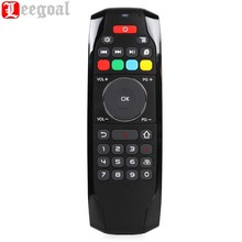 Leegoal Portable 2.4G G7 Fly Air Wireless Mouse Keyboard Remote Control Perfect Touch for Android Smart TV Box HTPC Projector