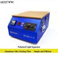 Возняк 220 В поляризующая пленка сепаратор MS 350 Взрыв экран ремонт инструмент поляризованные свет отдельные машины отличное качество