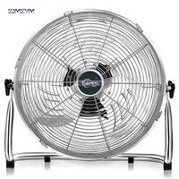 FE 40B 220V Powerful fan floor 4 files home fan desktop lying on the floor to climb the fan high power industrial fan 1300r/min