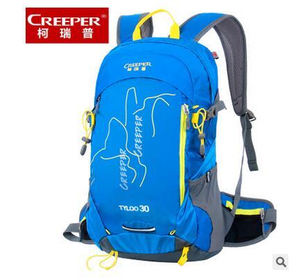 ФОТО Brand CREEPER 30L Professional cycling backpack waterproof Cycling Bag For Bike Travel Bag Hike Camping Bag Backpack Rucksacks